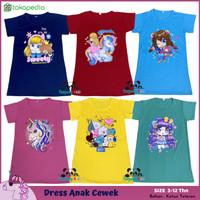 Pakaian Baju Daster Dress Anak Perempuan Cewek Cewe Karakter Murah - TOSCA-CUTE, M