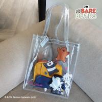 We Bare Bears Tote Bag Funhouse / Tas Mika Transparant