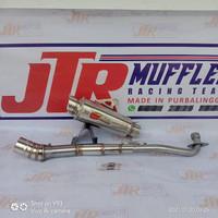 Knalpot racing CLD JUPITER Z Z1 VEGA R ZR SUPRA X 125 REVO 110 BLADE