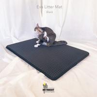 EVA DOUBLE LAYER CAT LITTER MAT 55*75cm - KESET PASIR KUCING