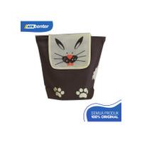 Goodie Bag / Tas Spunbond Jahit Model Ransel Motif Animal