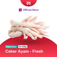 Ceker Ayam / Chicken Feet - ASLI FRESH (bukan frozen)