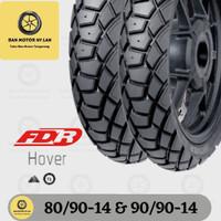 1 Set Ban Motor FDR Hover 80/90-14 & 90/90-14 Tubeless Dual Purpose
