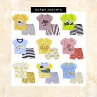 Baju Jumper Anak Piyama Pakaian Korea Celana Pendek Import
