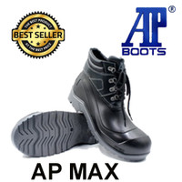 Sepatu Safety AP MAX By AP Boots Low Safety Boot Sepatu Pria Outdoor