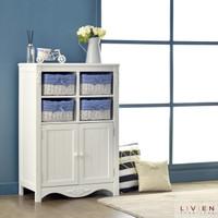 Lemari Rotan / Lisa Cabinet - Biru