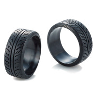 BAN RC Overdose x VALINO PERGEA 08RS 30mm Tire 2 pcs For 1/10 RC Drift