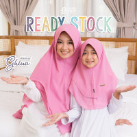 KHIMAR GHINA Dewasa dan Anak By Azkia Hijab