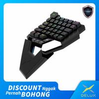Single hand keyboard Delux T6