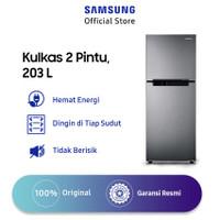 Samsung Kulkas 2 Pintu, 203 L - RT19M300BGS