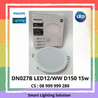 Philips Downlight LED DN027B LED12/ww D150 15w - Cahaya Kuning
