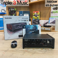 TASCAM US-2x2HR Soundcard Recording Triple 3 Music