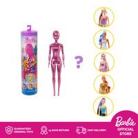 Barbie Color Reveal Doll Shimmer Series - Mainan Boneka Anak Perempuan