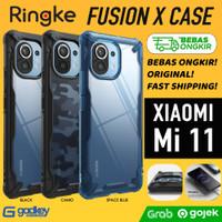 Case Xiaomi Mi 11 Mi11 Casing Ringke Fusion X Soft Softcase Original