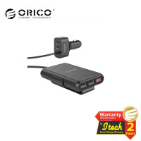 ORICO UCP-5P Car Charger 5 Port USB 52W with Extension Cord