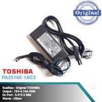 Adaptor Charger Laptop Original Toshiba Satellite M300 M840 R830 L510