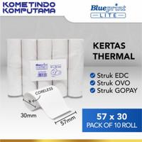Kertas Thermal / Kertas Kasir / Kertas Struk LITE-BLUEPRINT 57mmx30mm
