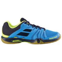 Sepatu Badminton Original Babolat Shadow Team Malibu Blue 137437085