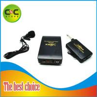 Wireless FM Transmitter Receiver Pro Microphone WR-601