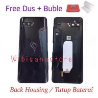 TERBAIK WS95 Original Back Housing Sarung Hp Tutup Baterai Asus Rog Ph