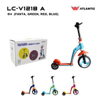 Scooter - Skuter Anak Atlantis 2in1 AT LC-V1218 A