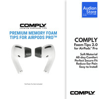 COMPLY FOAM TIPS 2.0 Premium Memory Foam Tips for Apple AirPods Pro
