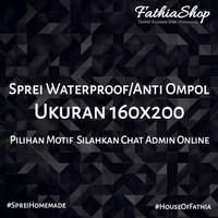 Sprei Anti Ompol 160x200 Waterproof Motif By Request