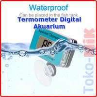 Digital Thermometer Aquarium Waterproof Termometer Celup Anti Air