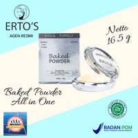 ERTOS Baked Powder cushion All in One / Bedak Erto's MakeUp wajah