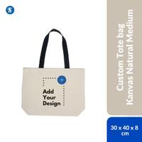 Custom Tote Bag Kanvas Medium