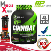 Combat Powder 4 Lbs Muscle Pharm Mp 4Lbs Whey Protein With Casein