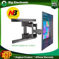 Bracket Tv 70 65 55 50 49 43 40 inch Braket Swivel North Bayou import