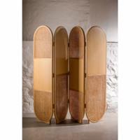 sketsel sekat ruangan minimalis kayu jati kombinasi rotan terbaik