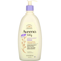 Aveeno Baby Calming Comfort Lotion, Lavender & Vanilla 18 oz (532ml)