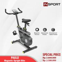 Alat Fitness Magnetic Bike Insport Paulo Sepeda Fitness