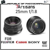 7artisans Photoelectric 25mm f/1.8 For Sony, Canon, Fujifilm, MFT - Canon
