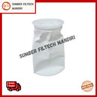 Filter Bag Polyester (4x9) 1, 5,10, 25, 50, 100,150 Micron / Minyak