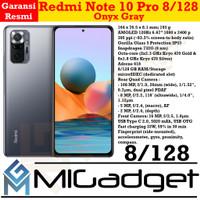 Xiaomi Redmi Note 10 Pro 8/128 108MP 120Hz AMOLED Garansi Resmi