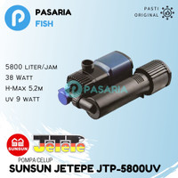 SUNSUN JETEPE JTP 5800 UV / JTP5800 UV / JTP5800UV Pompa Celup Kolam