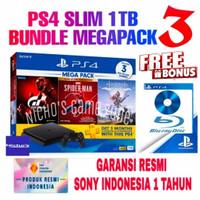 PS4 Slim 1Tb Cuh-2218B Mega pack Bundle