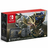 Nintendo Switch Console Gen 2 V2 Monster Hunter Rise Special Edition