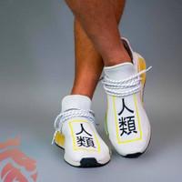 sepatu adidas NMD human race x pharrell putih