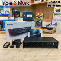 TASCAM US-4x4HR Soundcard Recording Triple 3 Music