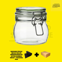 IKEA Korken Jar Toples Kaca 0,5L Kedap Udara