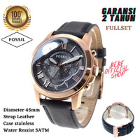 [ORIGINAL] Jam Tangan FOSSIL Pria FS5085 Grant / Jam Fossil Pria