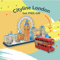 CUBICFUN Cityline London MC253 - 3D Puzzle