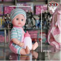 Mainan anak perempuan boneka bisa pipis dan bicara - cute baby face