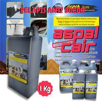 Anti Rembes Lantai Atap Dak / Aspal Cair Guna Kote Waterproofing 1 KG