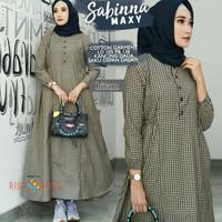 jual gamis murah/dress muslim/baju hijab/maxi muslim/sabina dres kotak