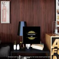 Wallpaper stiker kayu kayu coklat tua